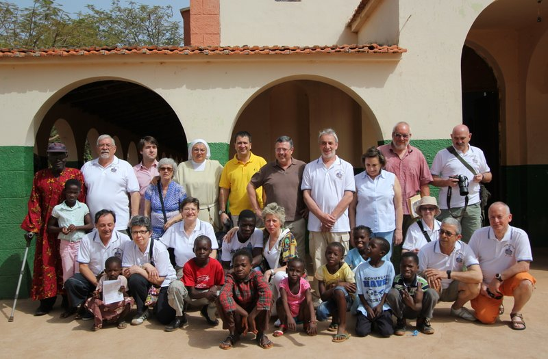 Rientro dalla Guinea Bissau destinazione Gemona del Friuli